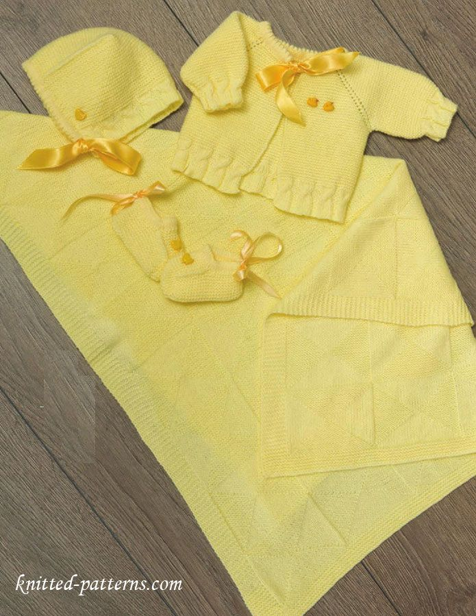 Newborn layette knitting patterns free | Free knitting patterns ...