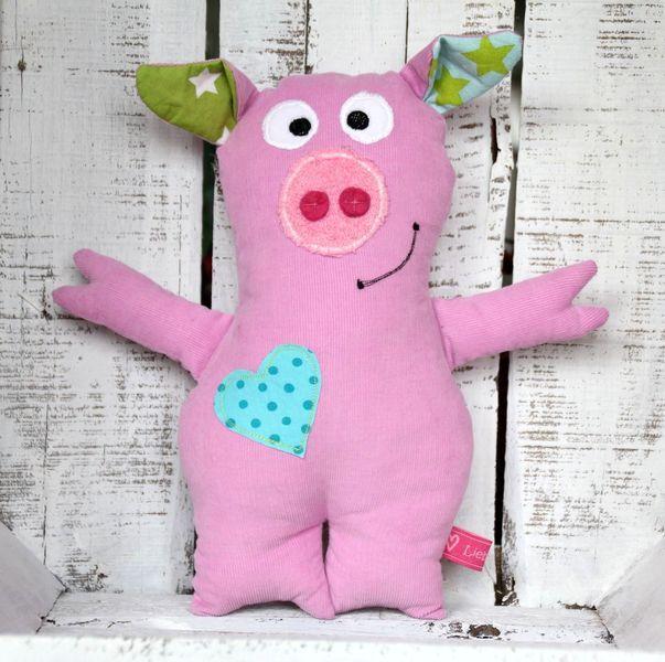 schwein susi liebenswert schweinchen und kuscheltiere. Black Bedroom Furniture Sets. Home Design Ideas