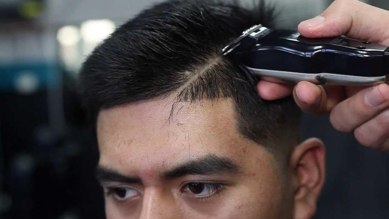 Barber Hair Styles: MID SKIN FADE TUTORIAL