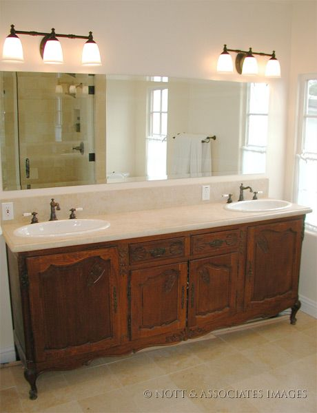 Pictures Of Dressers Converted Into Bathroom Vanities Antique Furniture Cabinet A Two Sink Vanity With Marble