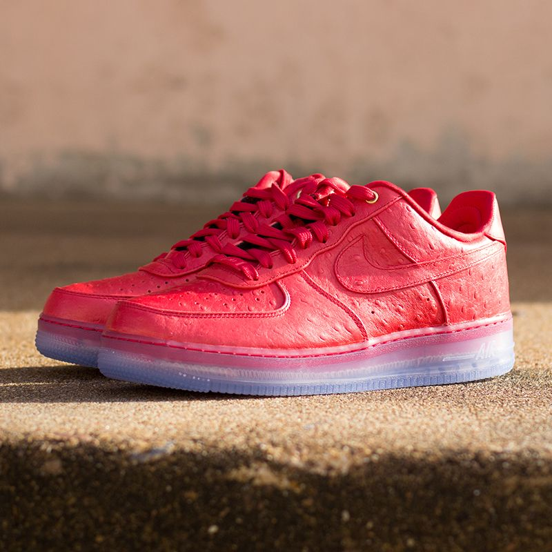 The Nike Air Force 1 Comfort Lux Low in red is here to