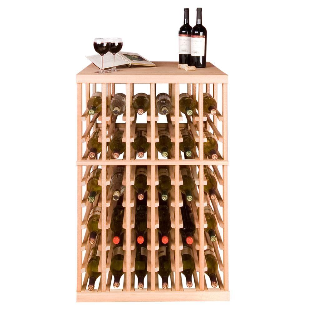 Vinotemp 108 Bottle Pine Floor Wine Rack Ibh Dd 7 Wine Rack