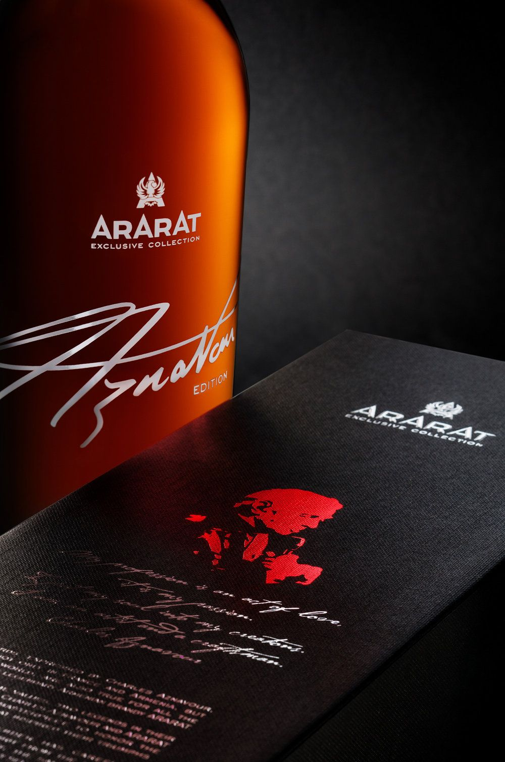 Charles Aznavour Signature Blend Packaging Design Packaging Design Branding Design Whiskey Packaging