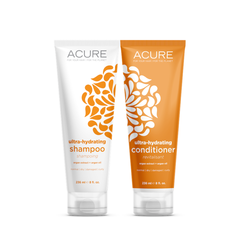 Acure Ultra-Hydrating Shampoo & Conditioner, Pumpkin