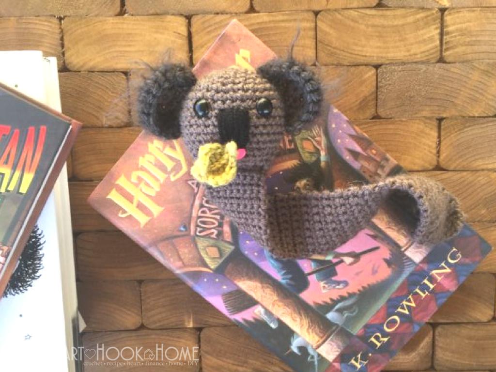 Kenny the Koala Bookmark Amigurumi Crochet Pattern | Llaveros y ...