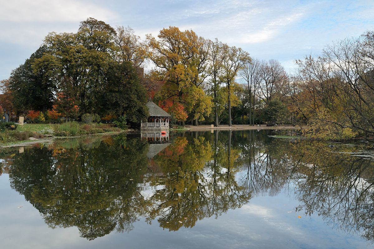 Prospect Park is a 585-acre (237 hectare) public park in the New ...