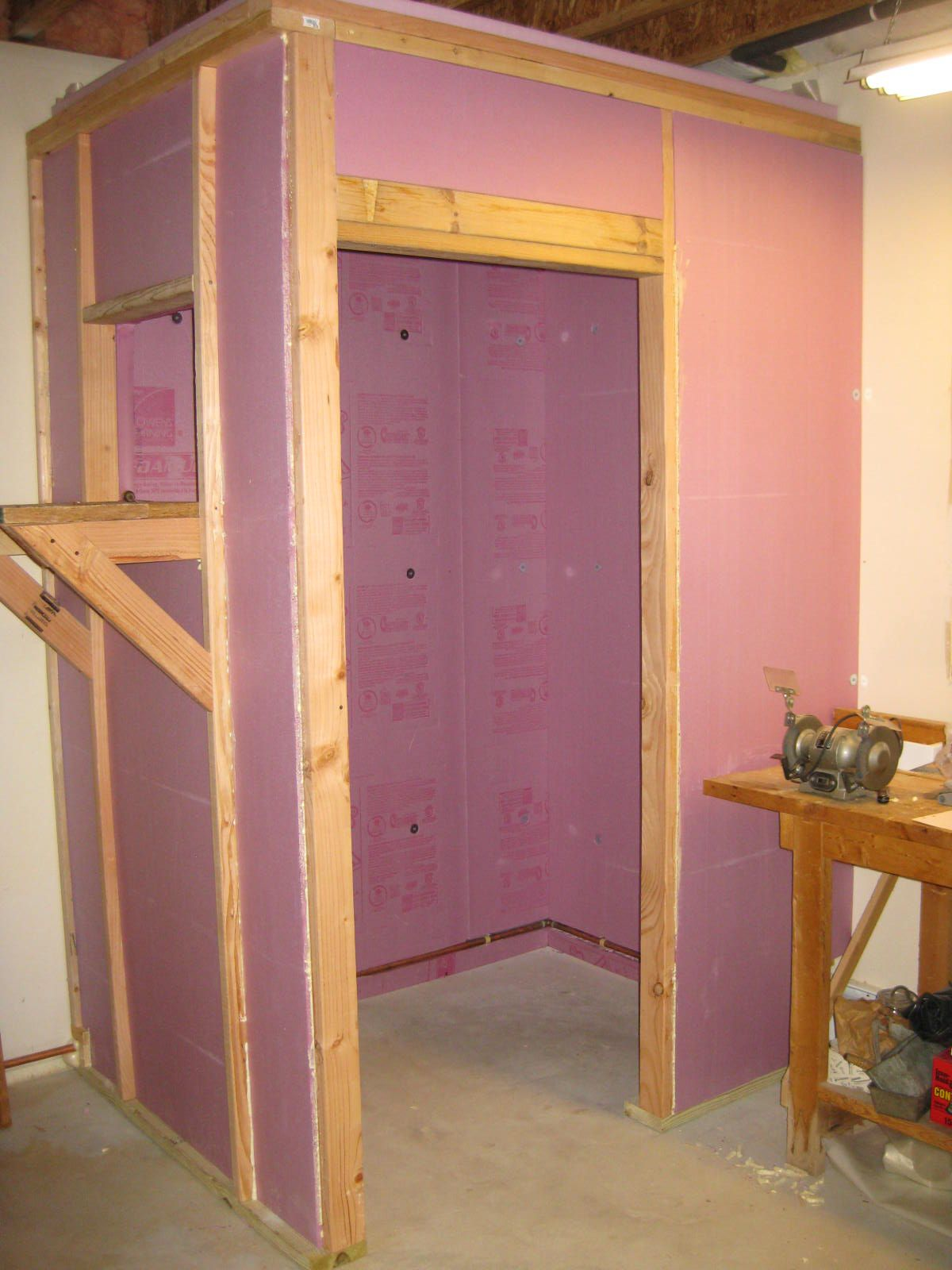 Building A Walk In Cooler Walk In Freezer Home Home Projects