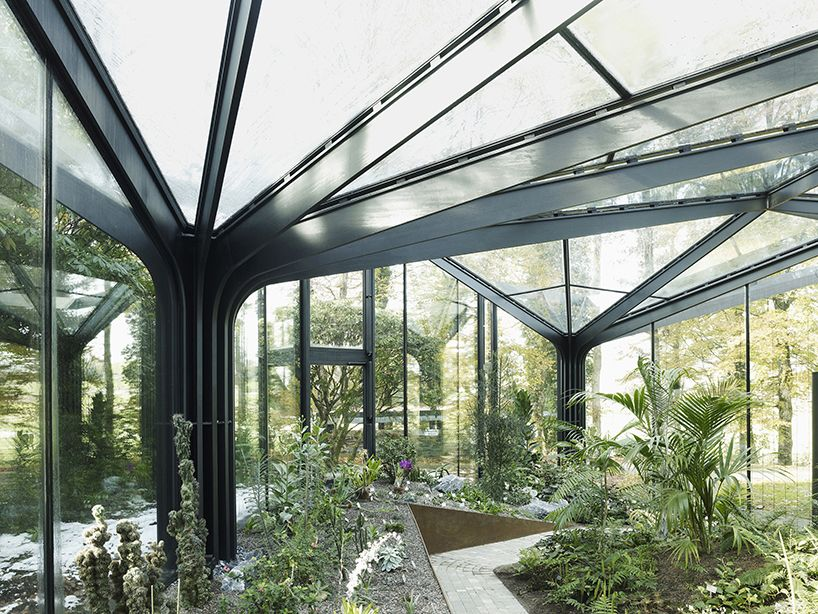 'greenhouse botanical garden grueningen' by idA, grueningen, switzerland