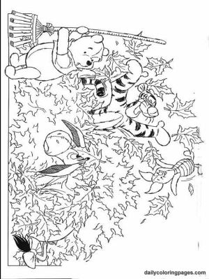 Autumn Coloring Pages | winnie the pooh fall coloring pages 03 by ...