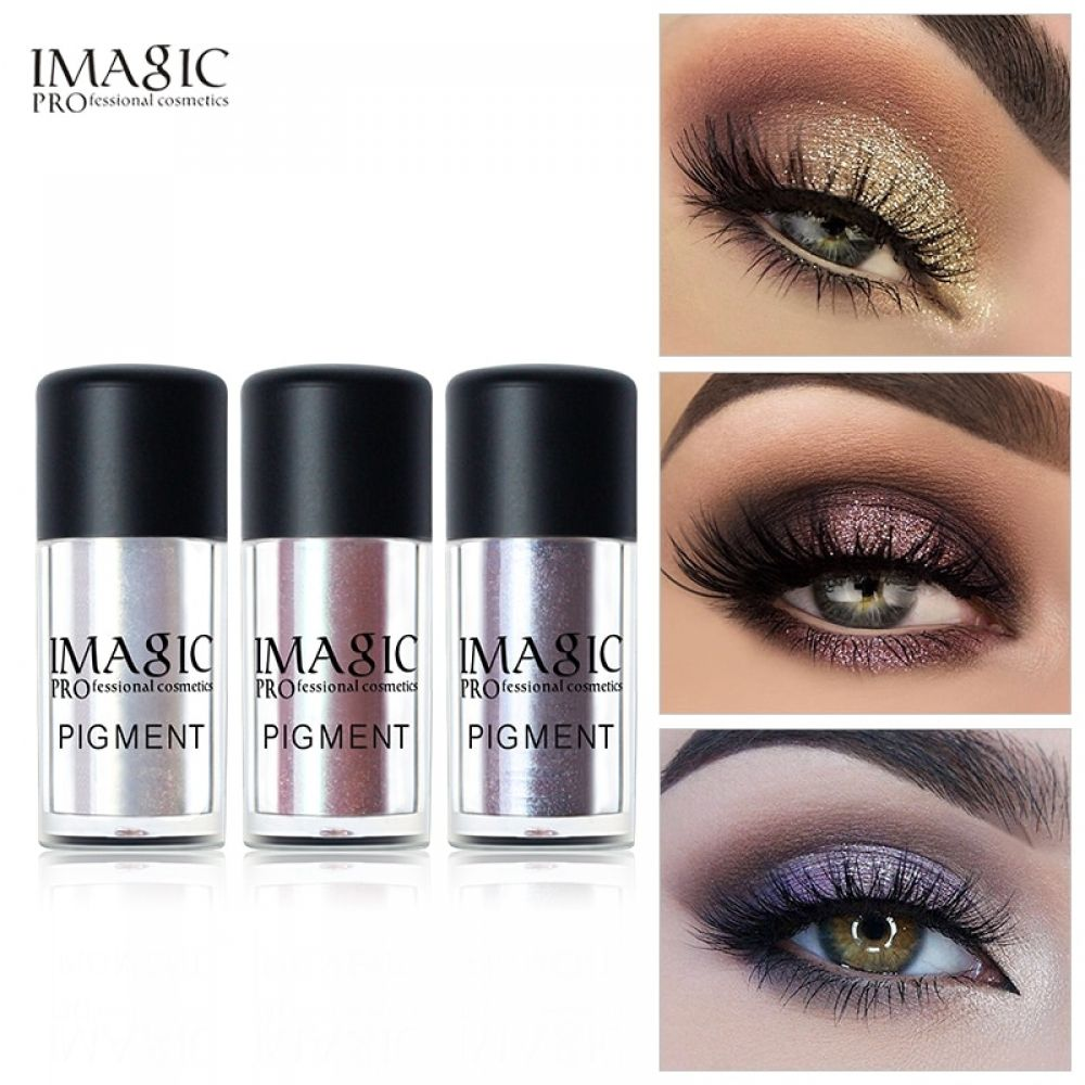 IMAGIC Glitter Metallic Loose Powder Metallic Eyeshadow