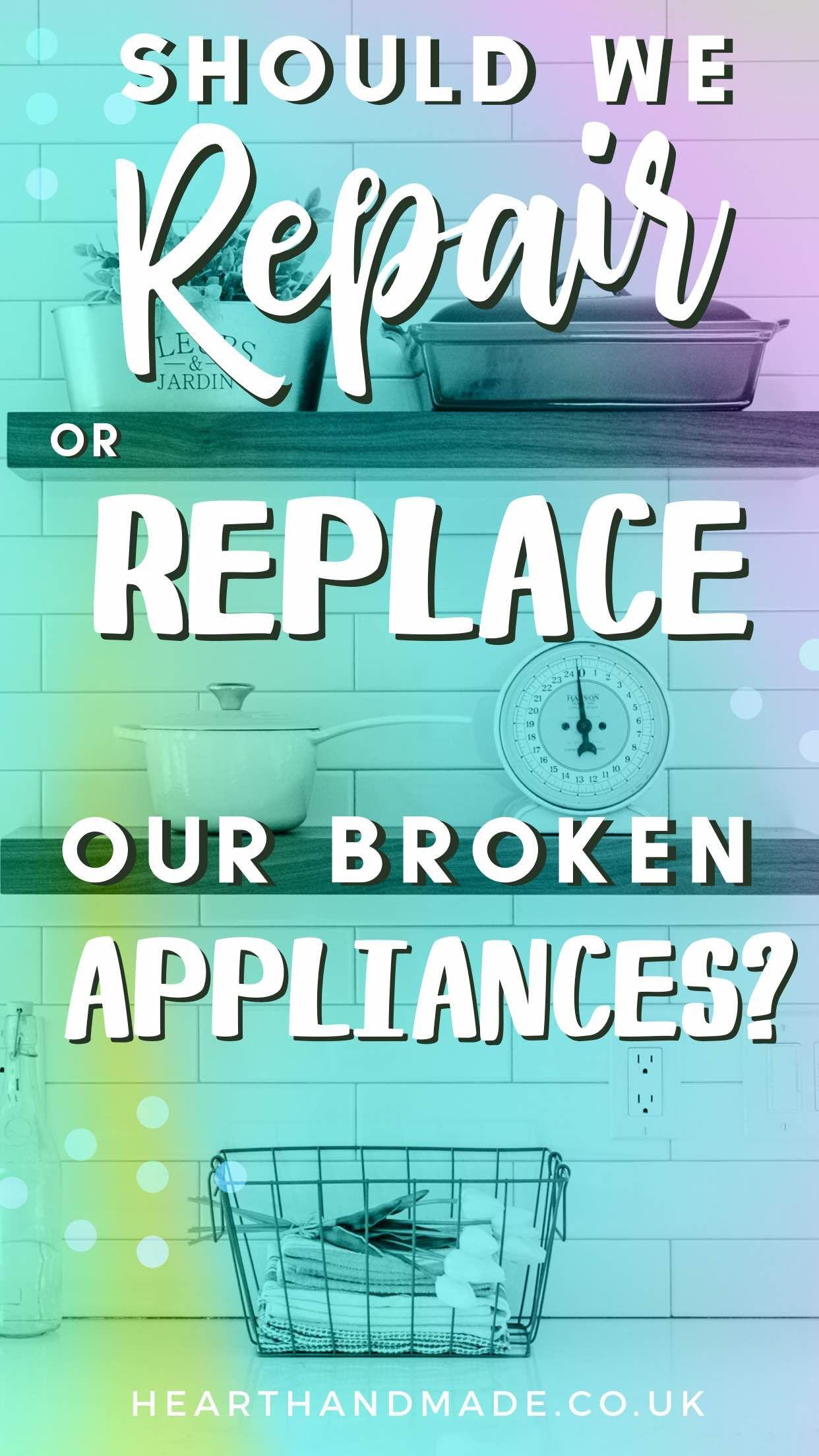 Is Appliance Repair Worth The Money? Appliance repair