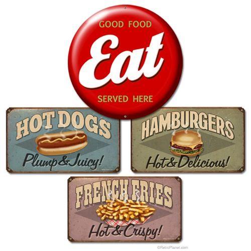 Vintage Diner Signs