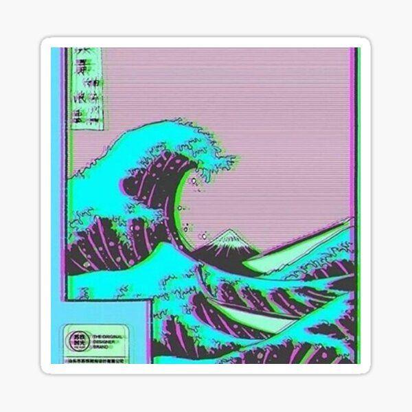 'Vaporwave Pixel loadout' Sticker by vapormoon