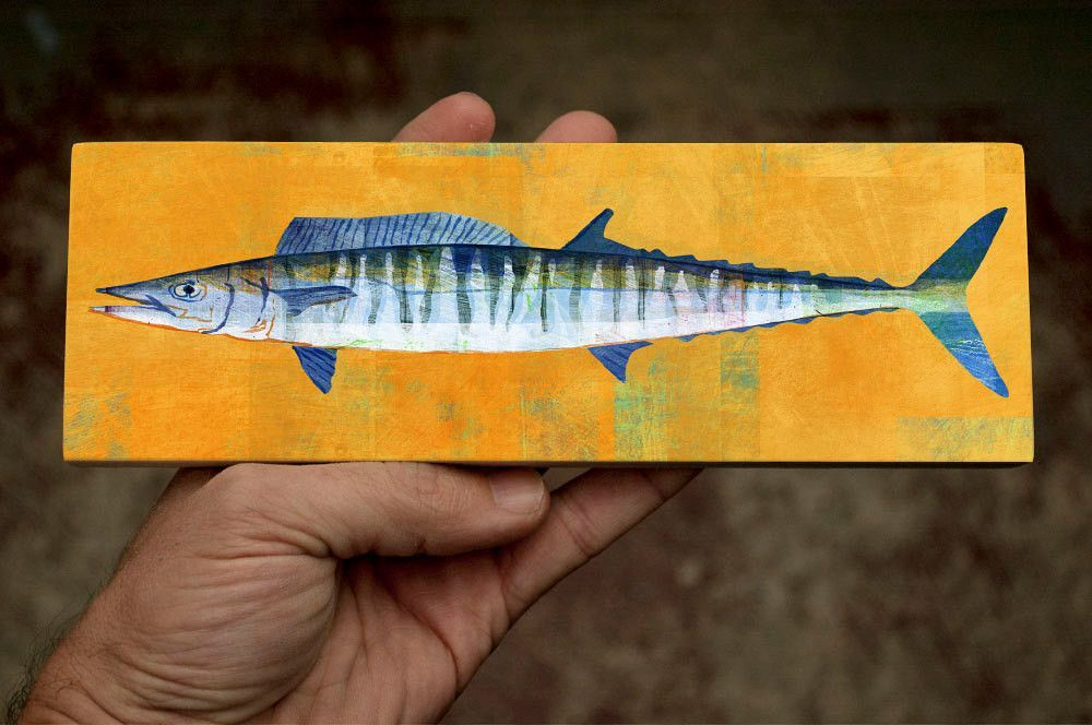 This fish wall decor makes great gifts for your favorite fisherman ...