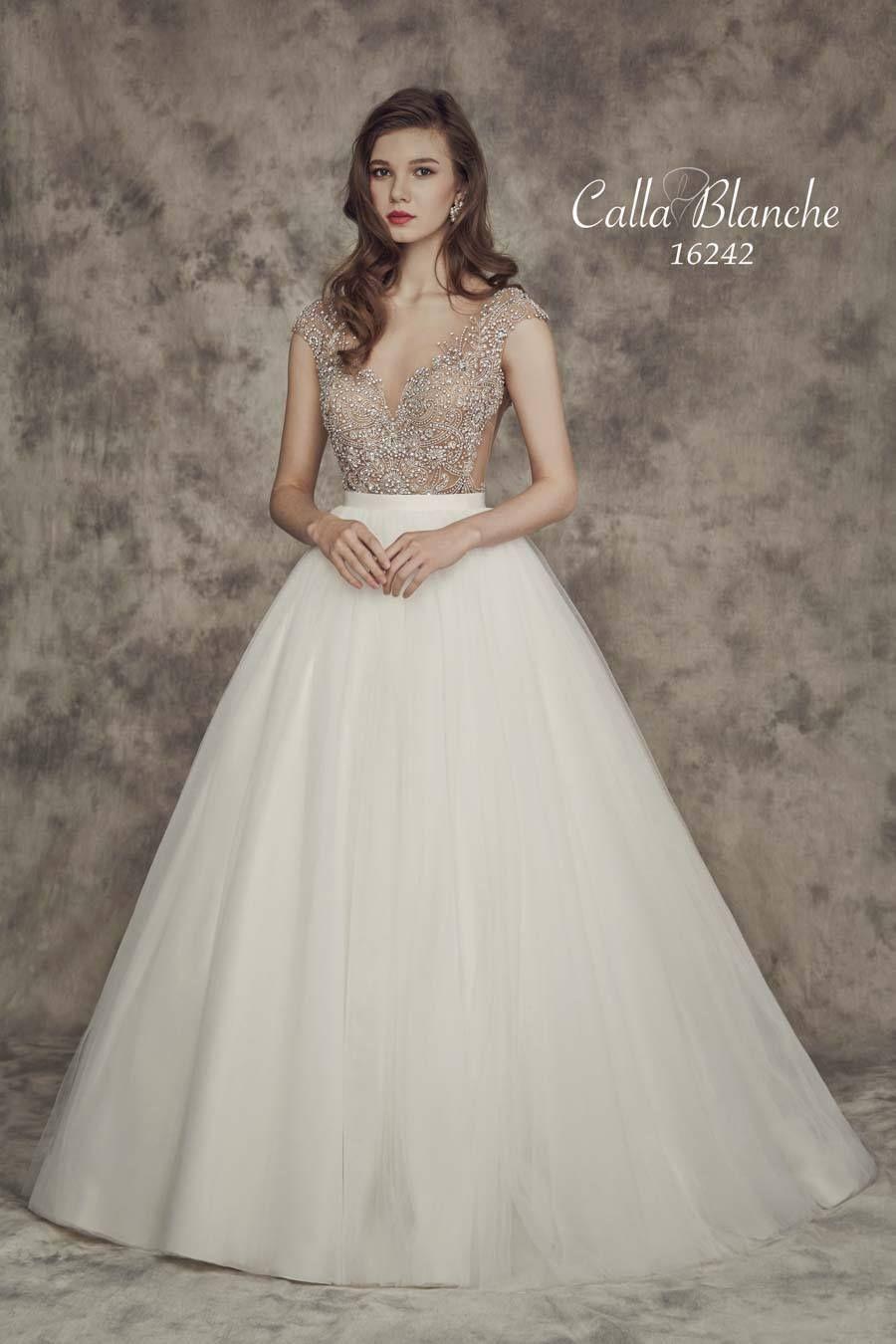 CALLA BLANCHE Carrie Wedding Dress Style 16242 | Calla Blanche ...
