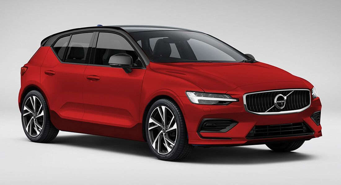 Upcoming Volvo V40 Puts On A Familiar Face In New Renderings With Images Volvo V40 Volvo Volvo S40