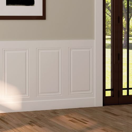 Lambris Mirage Half Walls Wall Trim Chic Interior Design