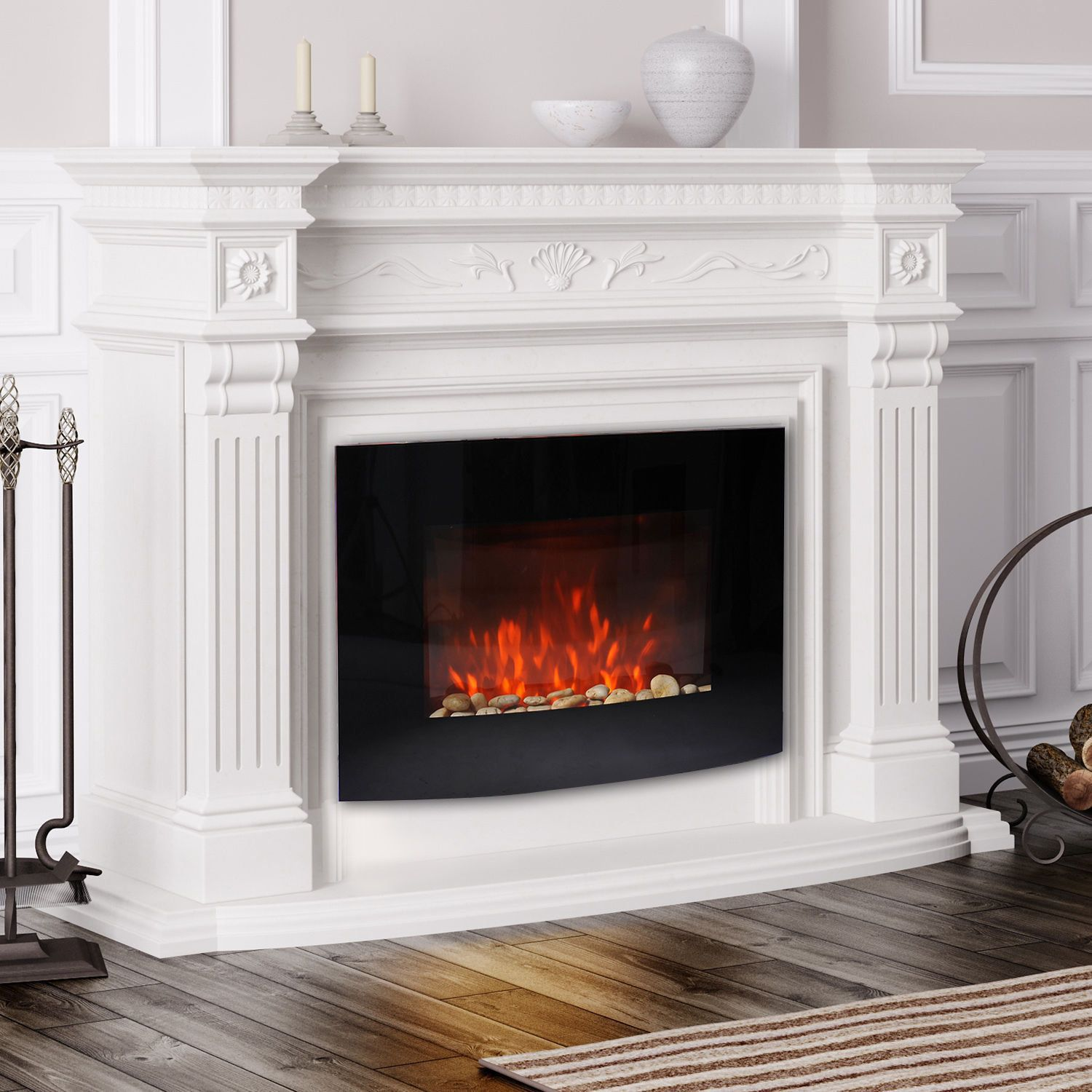 Artificial Fireplaces Fireplace Inserts Installation Beautiful Fireplace Ideas