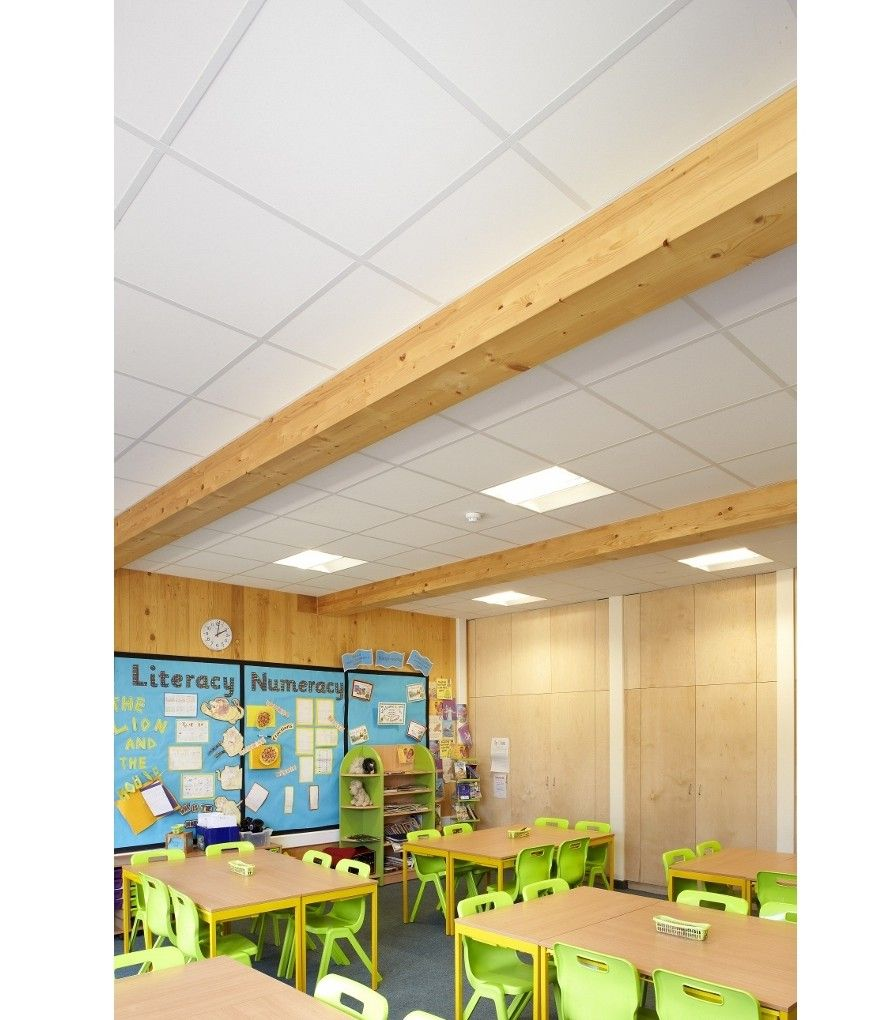 Acoustic solutions from Knauf AMF Ceilings make the grade