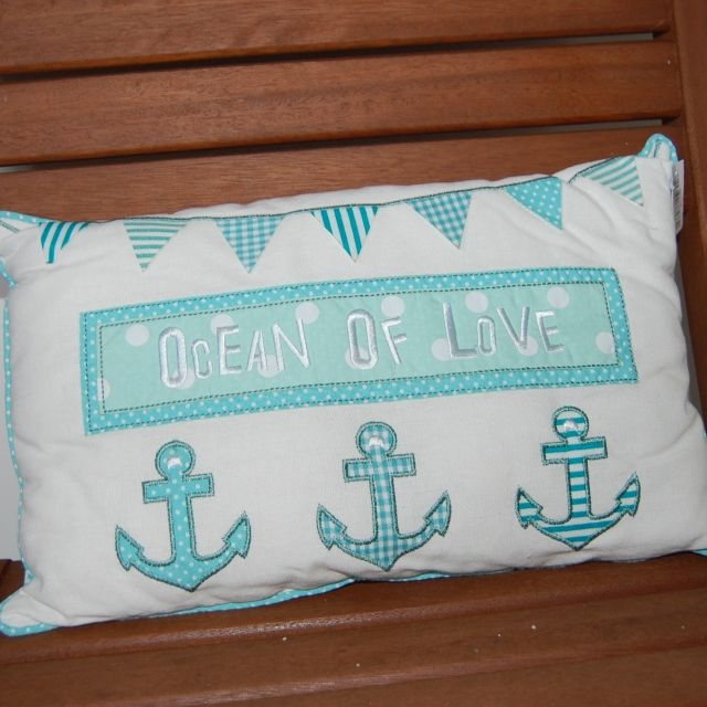 Soft Nautical Anchor Cushion