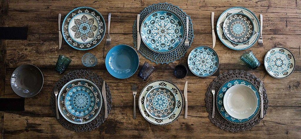 Sabella Home Marrakech Sunrise 18 piezas Vajilla