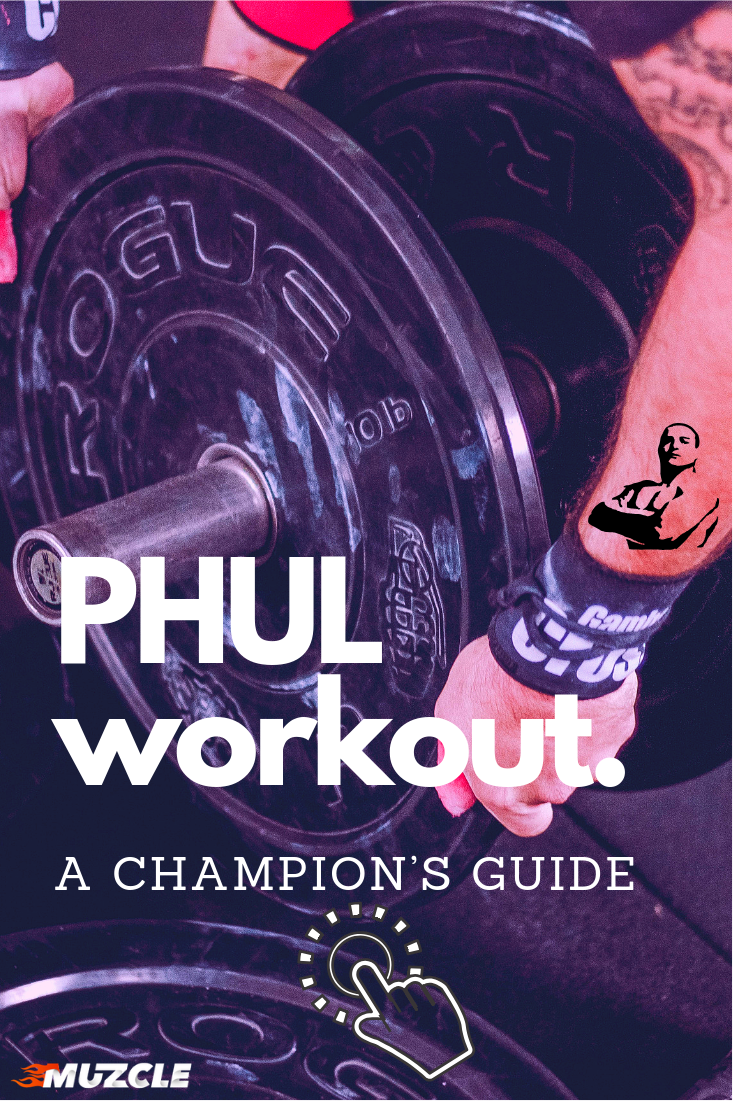 Discover PHUL Workout 🔴 Gain more strength and muscle gains like
