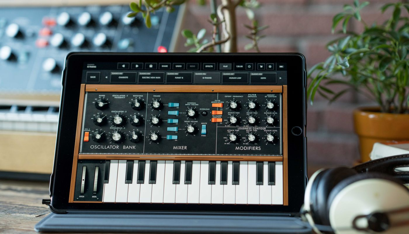 The revolutionary Minimoog Model D synth is now available