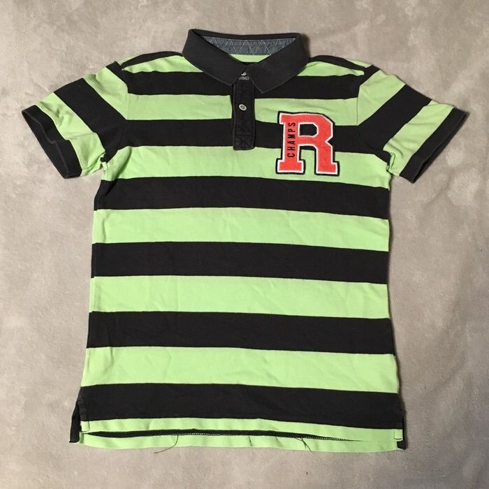 89a4e6329739af Mein Polohemd Poloshirt H M grün khaki Größe 134 140 von H M! Größe 134 für