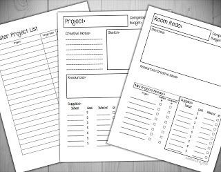 Free Printable Project Planners Freebie  Printables