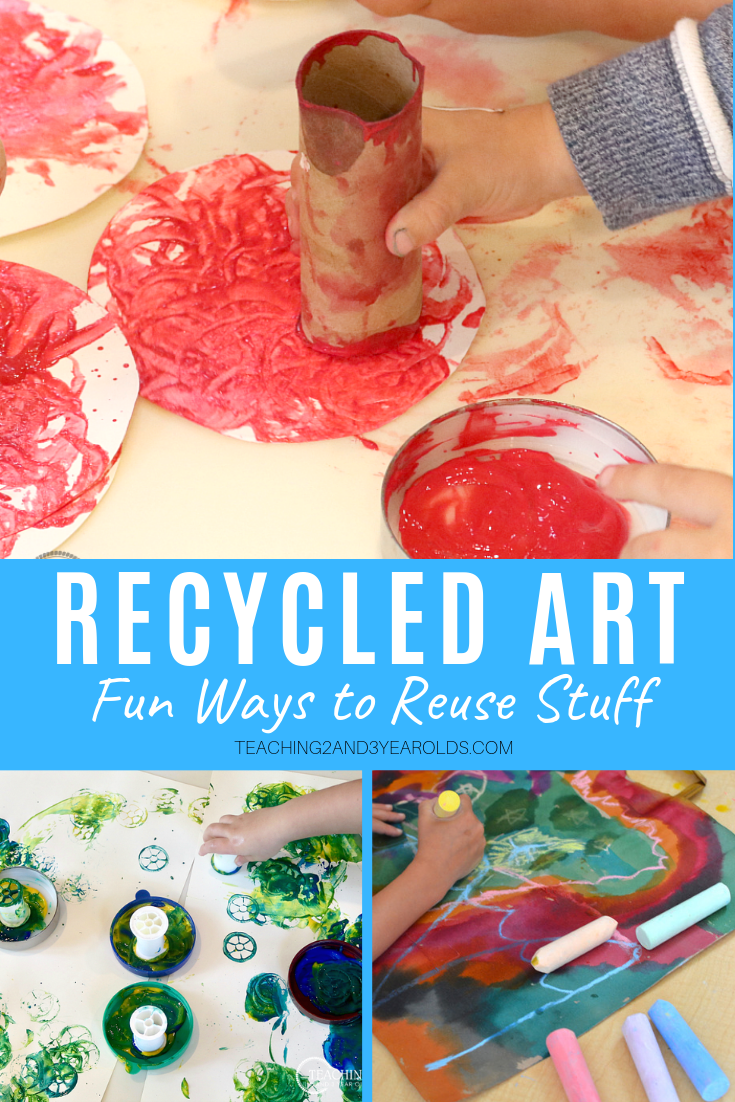 How to Create Preschool Recycled Crafts that are Fun!