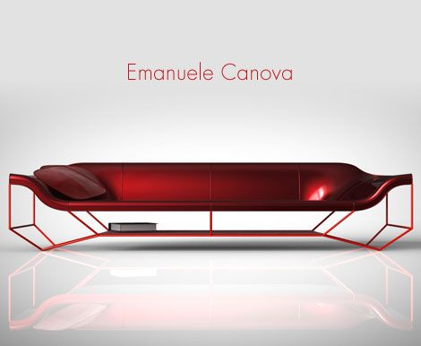 emanuele-canova-1 muebles Pinterest Sillones y Industrial