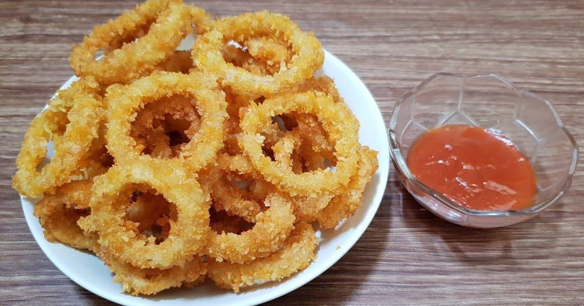 Bagi Sobat Yang Memiliki Hobi Ngemil Onion Ring Crispy Salah Satu Kuliner Yang Harus Sobat Coba Rasanya Yang Lezat Crispy Menamba Makanan Resep Makanan Resep