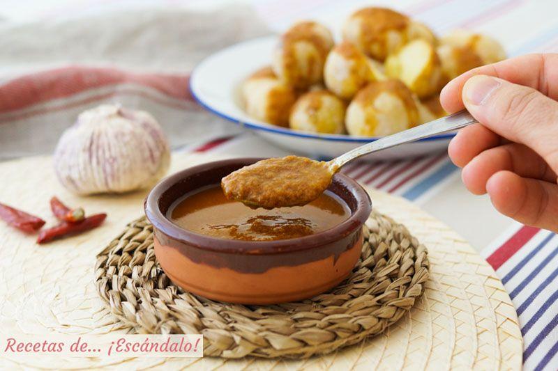 Receta De Mojo Picón Rojo Canario Una Salsa Deliciosa Recetas De Comida Receta Casera Comida