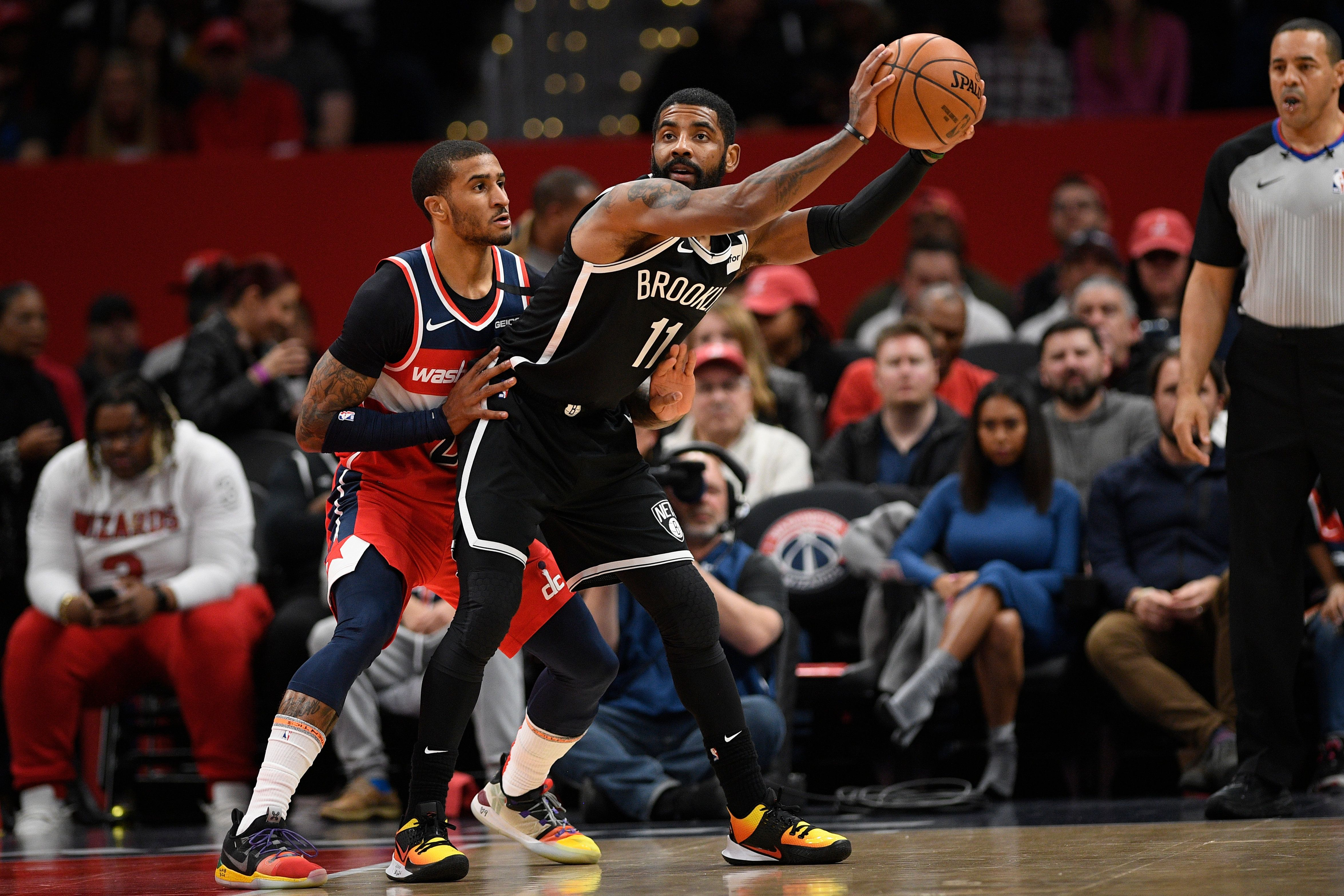 Nets Guard Kyrie Irving Has Shoulder Surgery in 2020
