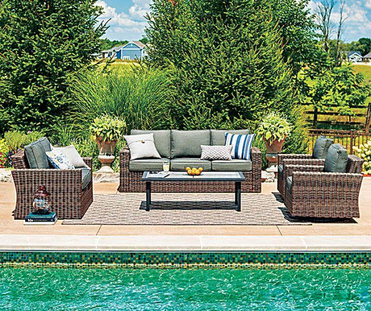 Wilson & Fisher Shadow Creek 5Piece Patio Furniture Set