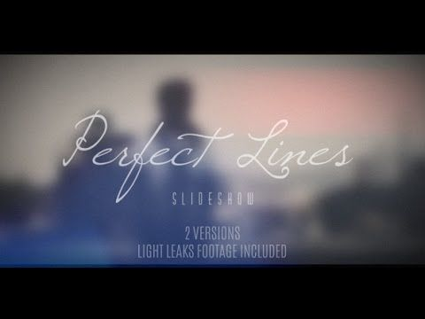 FREE After Effects Template Perfect Lines Slideshow Long - Adobe after effects slideshow templates