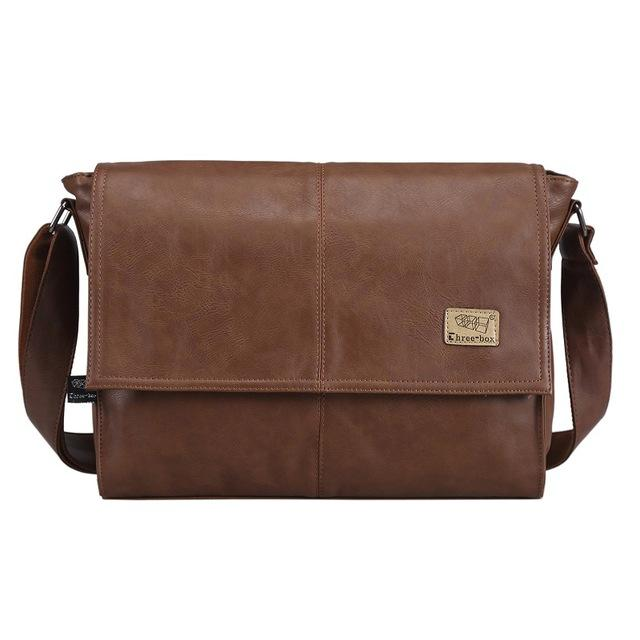 9f2a96bac3 The Architect - Leather Portfolio Briefcase Messenger Bag for Men from  Manly Packs for  55
