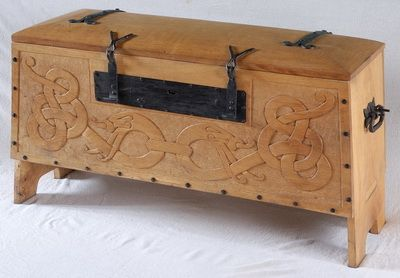 Viking Chest No 3 Wooden Boxes Wooden Containers Wooden Diy