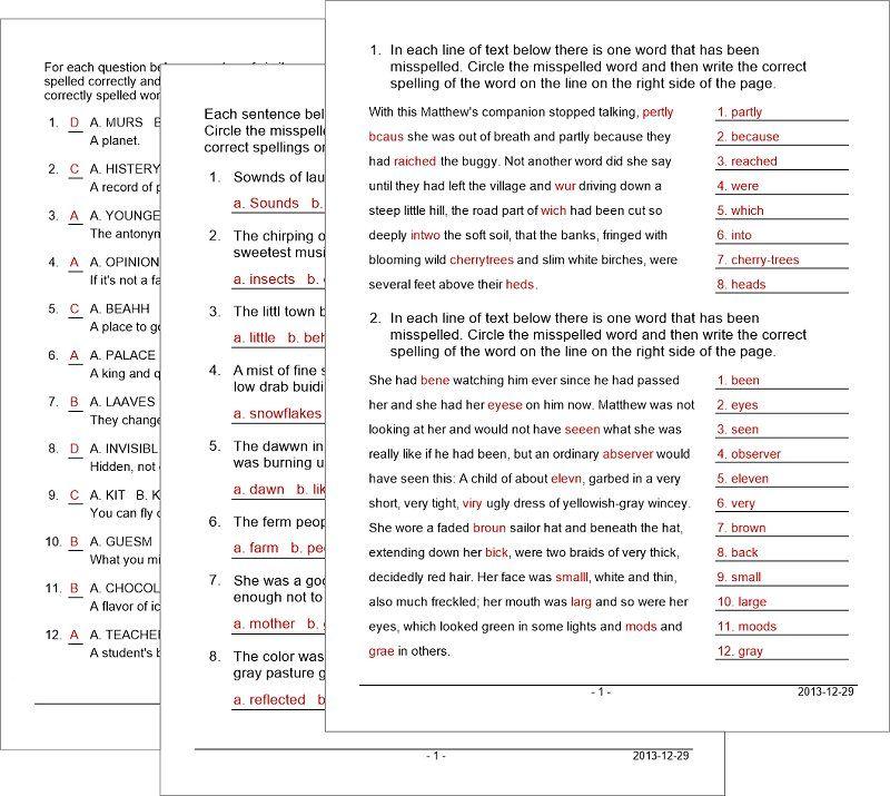 Vocabulary Worksheet Maker for Teachers – Worksheet Maker