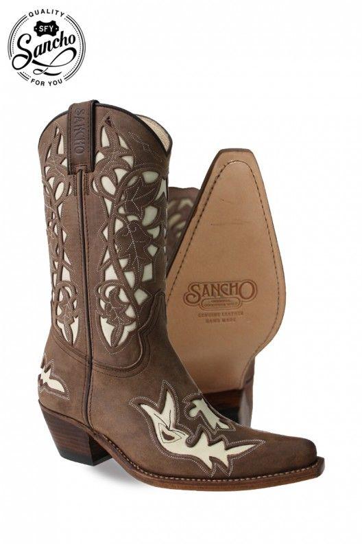 Botas de cowboy de mujer de primera calidad y muy resistentes. Ideales para  lucir con 92b57177541