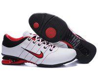 new photos 93dfc ab280 chaussures nike shox r2 homme (blanc noir rouge) pas cher en ligne.