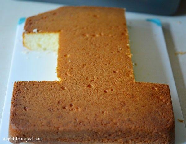 Kuchen Zahl 1