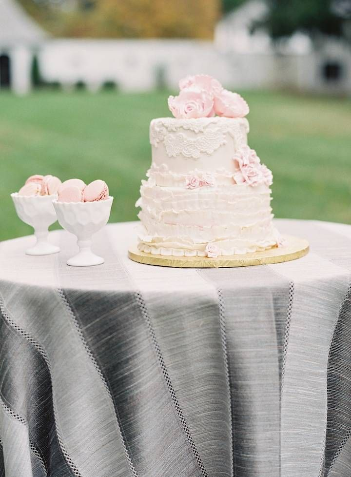 wedding cake idea; photo: Caroline Frost Photography