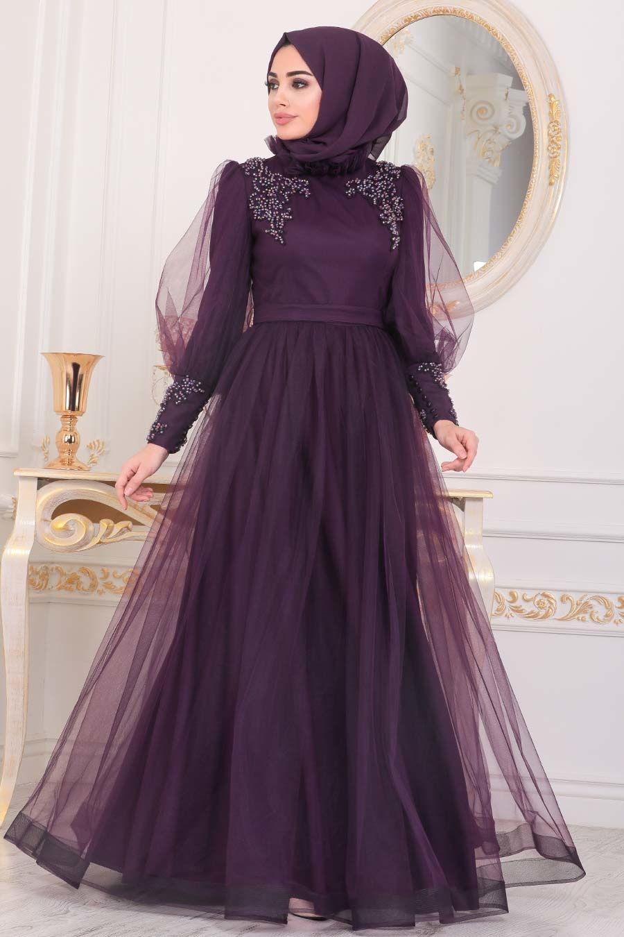 2019 Yeni Sezon Tesettur Giyim Elbise Sal Abiye De Ucuz Fiyat 2020 The Dress Giyim Aksamustu Giysileri