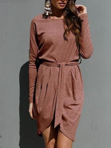 Womens Ladies Draped Mini Dress Short Batwing Sleeve Asymmetric Plain Long Top