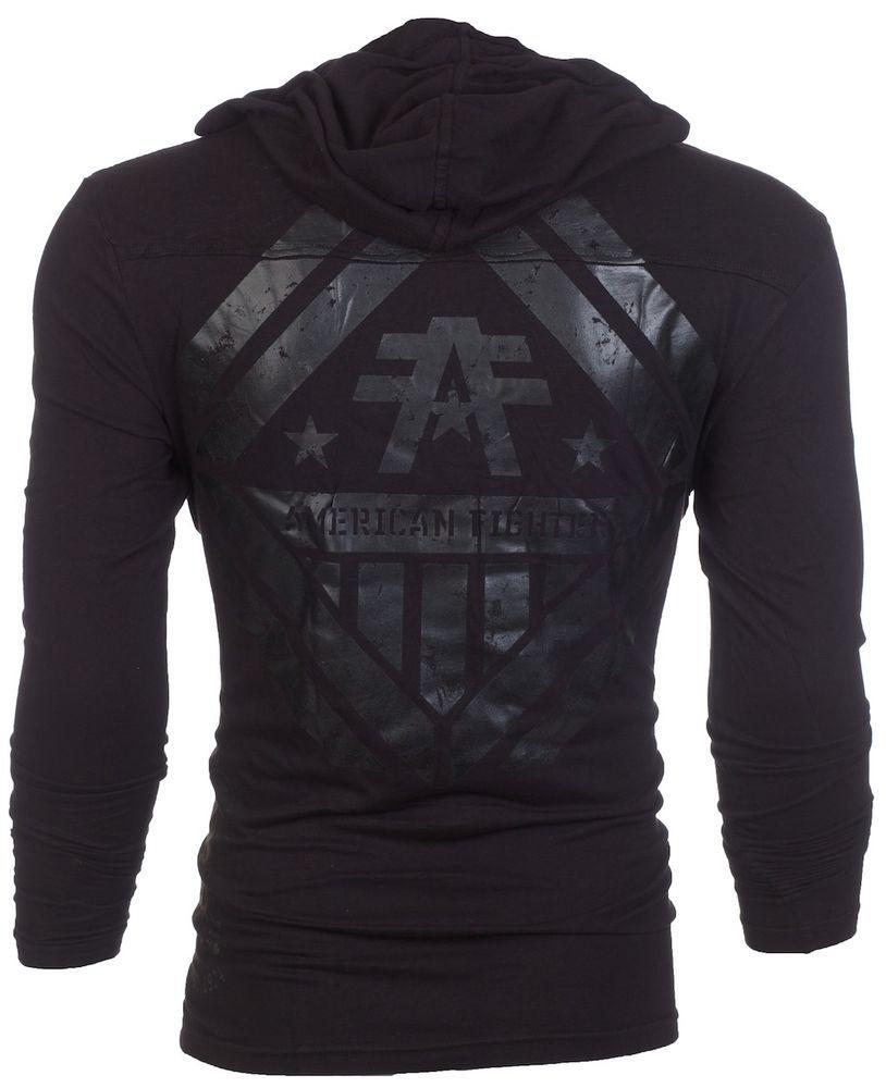 American Fighter Affliction Men Hoodie Sweatshirt Jacket Averett Biker Ufc S 3xl In 2021 Affliction Clothing Hoodies Men Mens Outfits [ 1000 x 814 Pixel ]