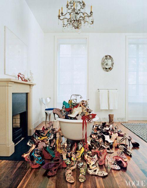 hermoso, lindo, moda, mujer, zapatos de tacón alto