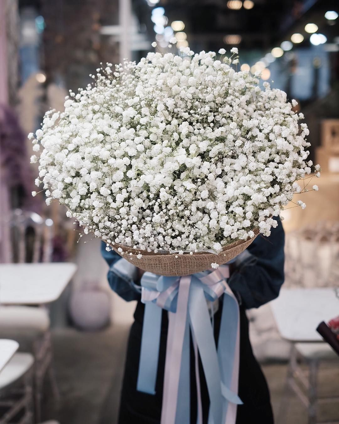 White Cotton Candy Pretty Flowers Floral Bouquets Flowers