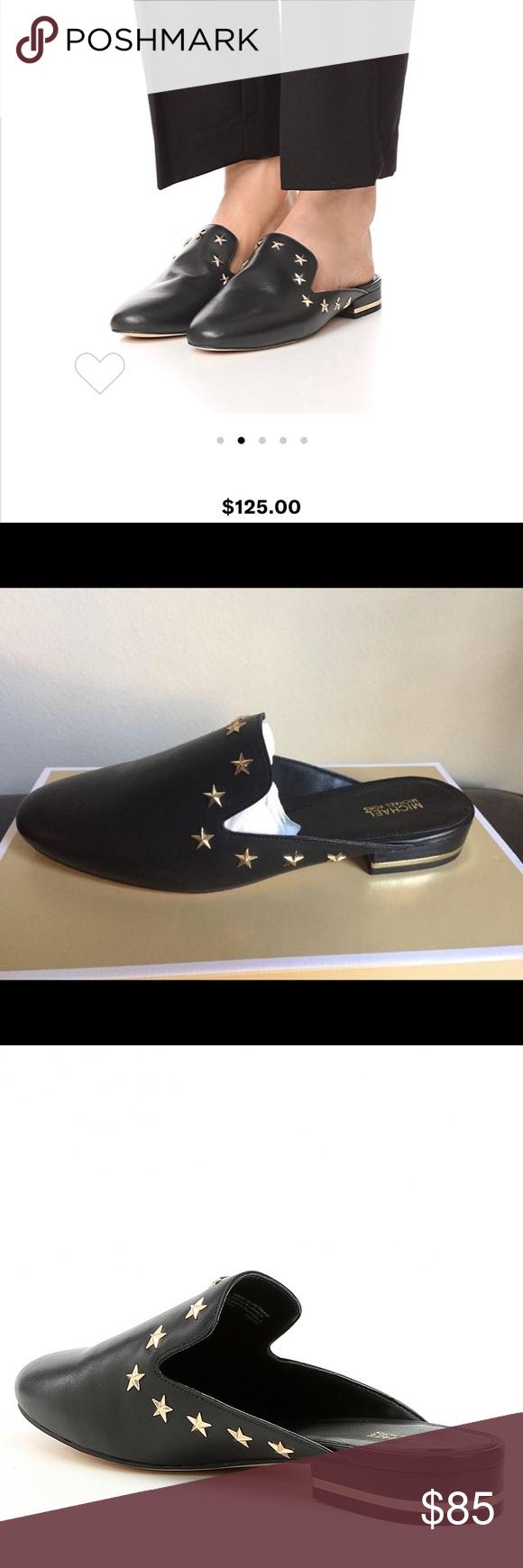 e239a41b98ee Michael Kors Natasha Star Studded Mules - size 10 Michael Kors Natasha Star  Studded Mules - size 10 Michael Kors Shoes Mules   Clogs