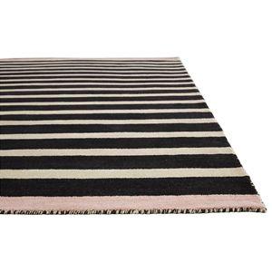 Jaipur Rugs Astor By Kate Spade New York Mariner Stripe Akn16 Black Area Rug Black Area Rugs Rugs Area Rugs